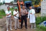 GGF beri bantuan bibit tanaman buah ke Polres Lampung Tengah
