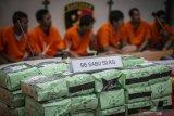 Polisi sita 59 kilogram sabu asal Malaysia