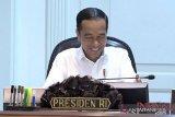 Presiden Joko Widodo instruksikan tiga hal agar bahan baku besi dan baja tersedia