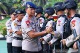 Polda Sumsel BKO-kan 100 personel Brimob  ke Papua