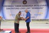 Rektor UNY resmikan Taman Adimarga dan Patung Kembara