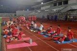 Manajer Shin Tae-Yong fokus pemulihan kondisi pemain di latihan perdana timnas