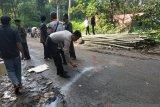 Polisi tangani kecelakaan sebabkan kepala sekolah  tewas