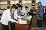 Bupati Solok dan Kepala OPD tandatangani perjanjian kinerja