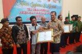 Kontributor Antara Kepri di Natuna  dapat penghargaan BNPB