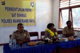 Polres Mamberamo Raya bentuk FKPM  Kampung Poiwai