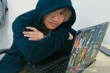 Belum bisa kembali ke China, mahasiswa asal Sumsel belajar  via daring