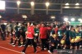Presiden Jokowi meresmikan Stadion Manahan Solo
