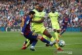 Barcelona vs Getafe, Messi cs susah payah meski menang 2-1