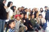 Terima kasih keluarga mahasiswa Kaltara kepada Jokowi