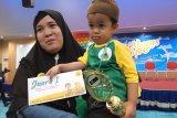 Komunitas Cahaya Padangajak masyarakat motivasi penderita kanker anak