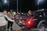 Polres Palu amankan puluhan  motor  balap liar di jalan layang Pantoloan