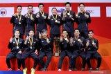 Susy puji penampilan tim bulu tangkis putra Indonesia