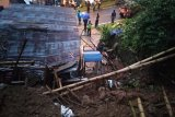 Longsor di Desa Leksana Banjarnegara terus ditangani