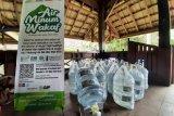ACT  Sulsel distribusikan puluhan galon air minum Wakaf di perkemahan pramuka