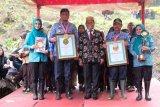 Penanaman 180 ribu vetiver di Kabupaten Gowa pecahkan rekor