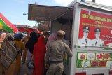 Stabilkan harga, Pemkab Agam gelar Operasi Pasar bawang putih di Pasar Inpres (Video)