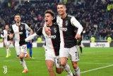 Juventus jauhkan diri dari kejaran Inter setelah menang 2-0 atas Brescia