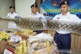 PENYELUNDUPAN KULIT ULAR DAN BIAWAK DARI INDONESIA