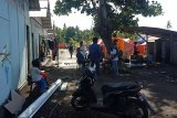 Pembangunan huntara nelayan Kota Mataram rampung