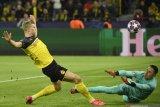 Borussia Dortmund bungkam PSG dengan skor 2-1 , lewat dwigol Haaland