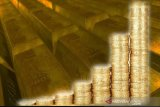 Harga emas berjangka melonjak 27,8 dolar AS, serbuan aset safe haven