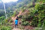 Longsor di Solok, 100 lebih warga terisolasi