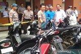 Demi lunasi utang di warung makan, Saiful curi 10 sepeda motor di Kudus