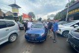 Bareskrim Polri menyita dua mobil tersangka penipuan Putri Arab