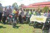 Polres jayawijaya kembalikan 10 motor curian dan tahan 19 motor milik polisi