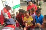 PMI Papua berikan promkes  pengungsi banjir bandang di Sentani