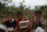 ACT salurkan pangan siap santap untuk warga terdampak banjir di Lebak