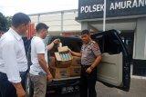 Polisi gagalkan penyelundupan 375 liter miras