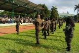 333 putra-putri asli Papua pegawai BUMN tampilkan atraksi bela negara