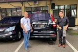 Polisi amankan satu mobil CRV milik tersangka penipu Putri Arab
