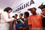 Menteri PPPA menyoroti anak-anak di Mandalika jadi pedagang asongan