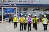 Jokowi sebut pembangunan jalan tol jangan tunggu IRR tinggi