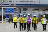 Presiden Jokowi tinjau pembangunan Tol Pekanbaru-Dumai, begini penjelasannya
