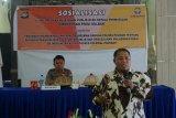 Ombudsman Sulbar kerjasama layanan publik di Polres Polman