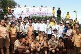Ditpolairud Polda Sulut Menanam 6.300 Bibit Mangrove