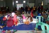 Berangsur surut, warga Kudus korban banjir sebagian pulang dari pengungsian