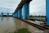 Kiriman air capai 833 m3/detik, Bendung Wilalung Kudus Siaga III banjir
