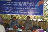 Wakapolda Sulawesi Barat  apresiasi pengawasan pelayanan publik Ombudsman