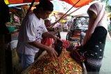 Harga cabai mulai turun di  Makassar