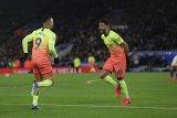 Leicester dipermalukan Manchester City di kandang sendiri