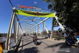 Jembatan KH Hasan Basri ditutup sementara