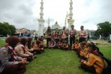 Doa Bersama Korban Susur Sungai Siswa SMPN 1 Turi Sleman