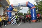 Ribuan pesepeda dari Sulteng dan Sulsel ramaikan Kota Poso