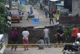Jembatan baru di Boyolali ambruk