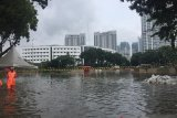 Underpass Kemayoran Jakarta Pusat tenggelam, diperkirakan capai 7 meter